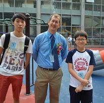 HIS Vice Principal & Students