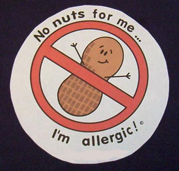 No nuts for me--I'm allergic