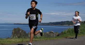 Kids racing to win