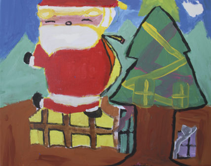 December Blank Canvas