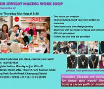 Jewelry-making-work-shop