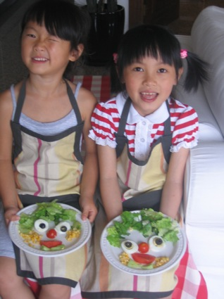 Beijing girls cooking