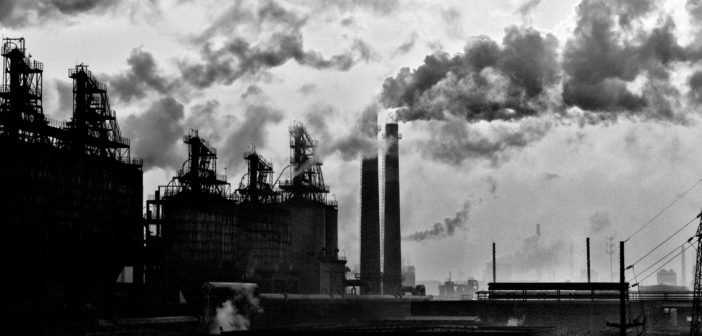 China pollution factories
