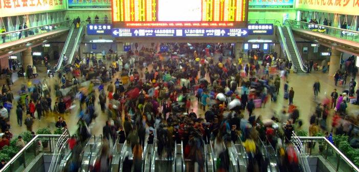China train stations