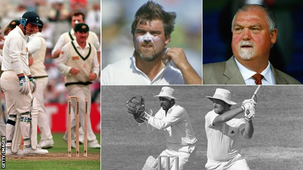 Mike Gatting Getty Images