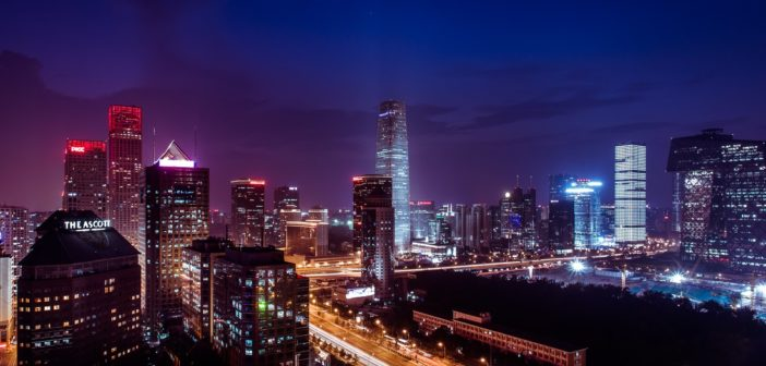 Beijing night view