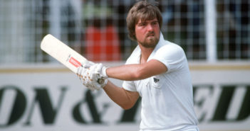 Sport, Cricket, pic: circa 1984, Mike Gatting, Middlesex and England batsman, Mike Gatting had a long Test career playing for England from 1977-1995 and as captain famously retaining the Ashes in Australia 1986-1987  (Photo by Bob Thomas/Getty Images)