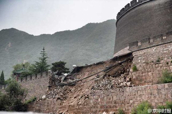 Great Wall collapse