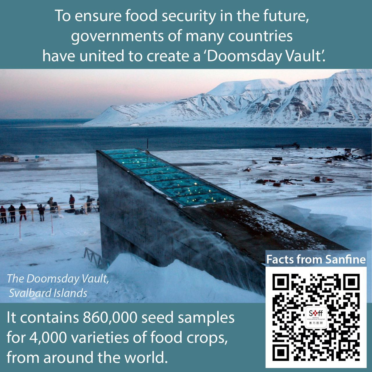 Sanfine QR code-Food Produce Blog