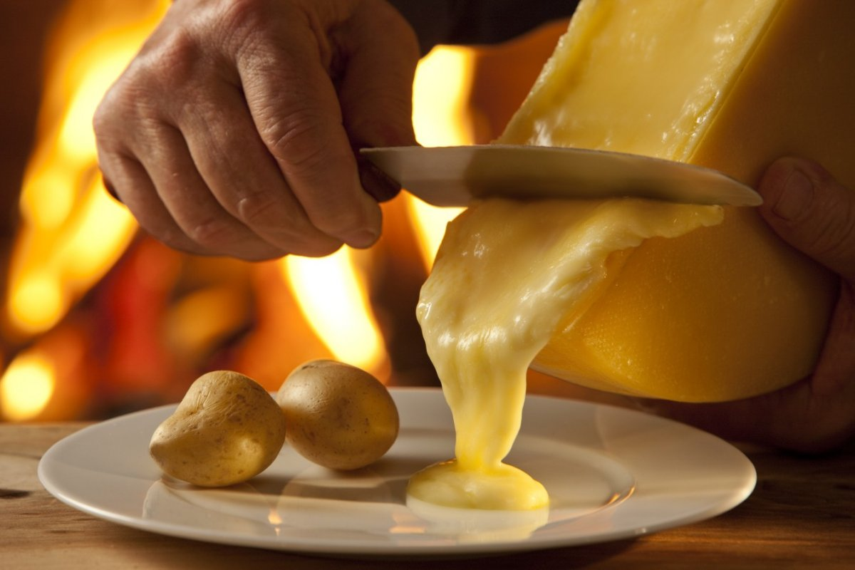 Swiss with Swiss Taste's raclette