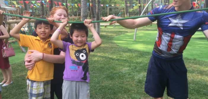 Give your kids a taste of the world in five days at Pingo Space's world summer camp.
