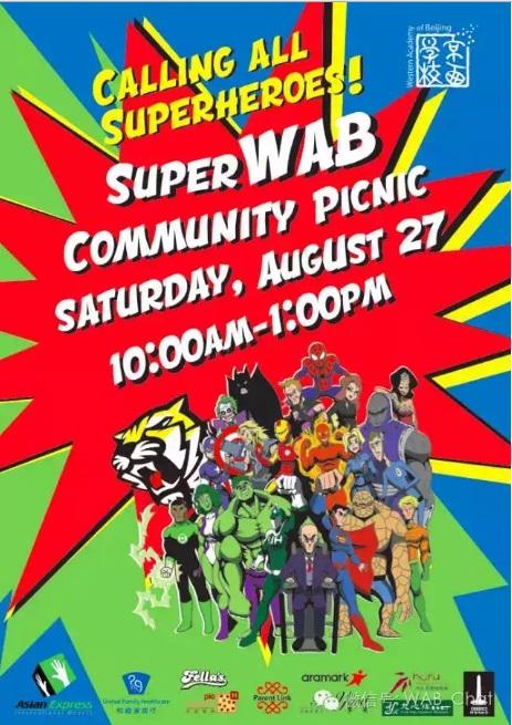 WAB superhero picnic
