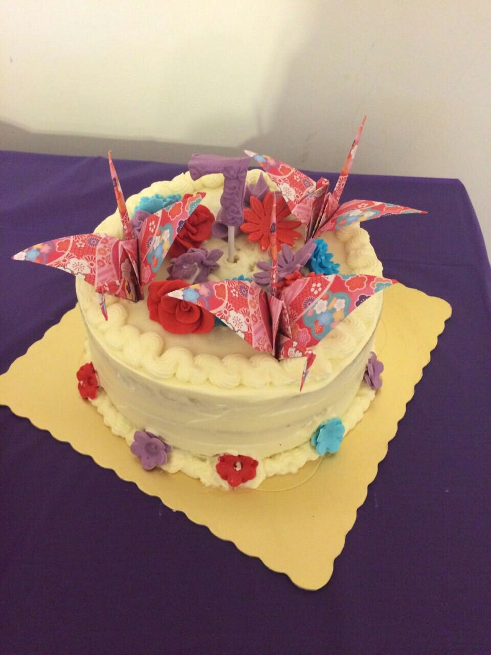 Tomoko Ueda birthday cake