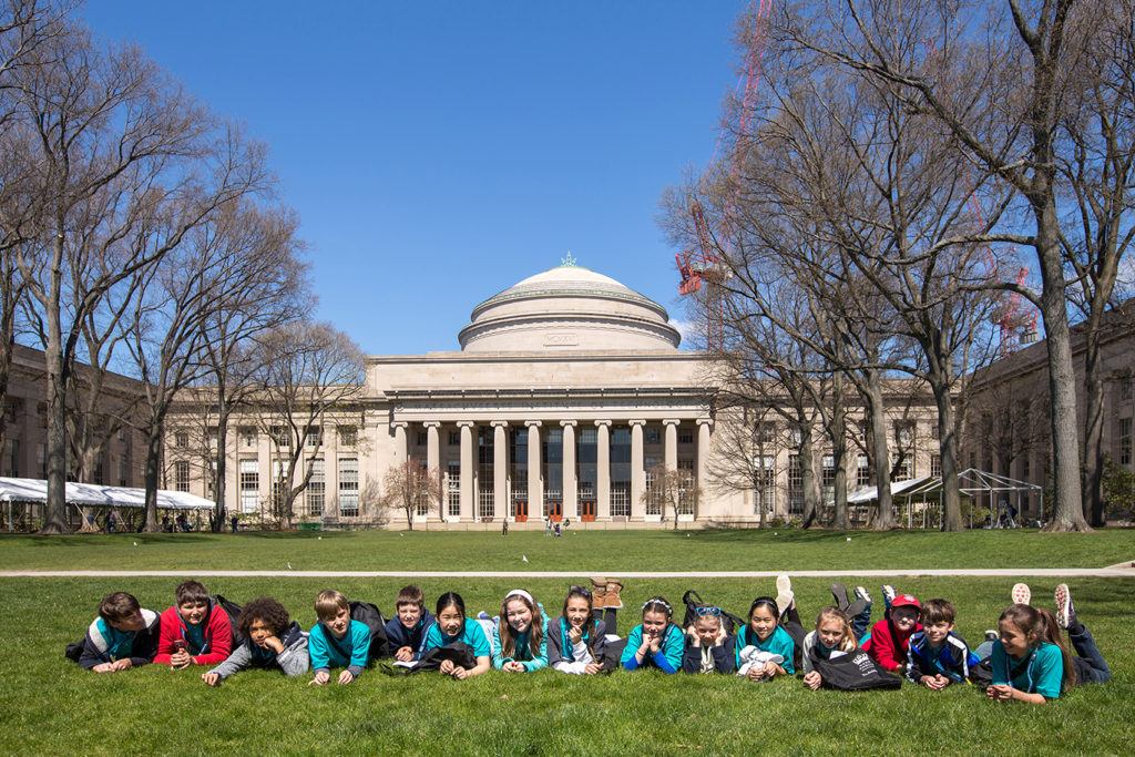 NordAnglia-students in MIT
