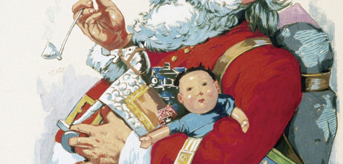 嚯, 嚯, 嚯! How Santa Claus Came to China