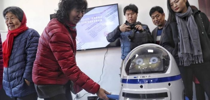 Introducing 'Little Fatty,' the Robot Servicing Beijing's Old Age Homes and Hospitals