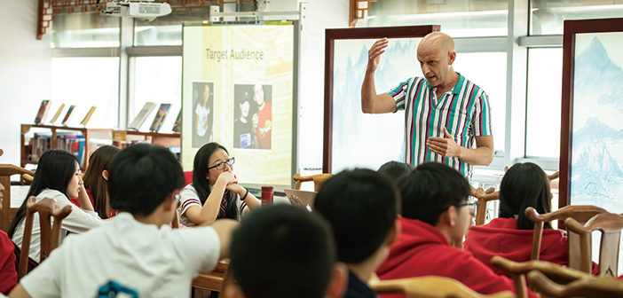 Adventures in Ventures: Plastered 8 Founder Dominic Johnson-Hill and CISB Pupils Get Down to Business