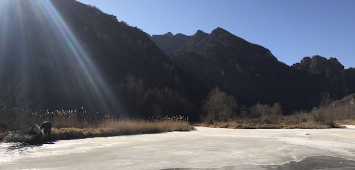 The Cold Never Bothered Me Anyway: The Roundabout Frozen River Hike