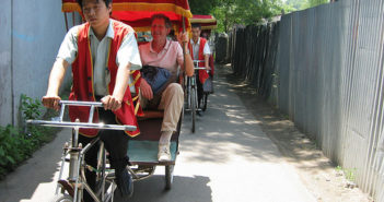 Chinese pedicab