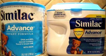 American Similac infant formula
