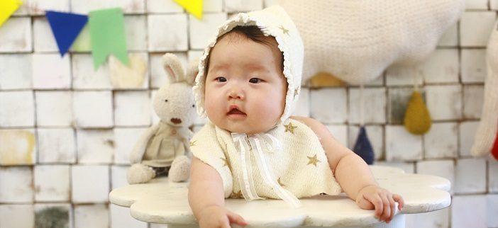 baby 100 days photo