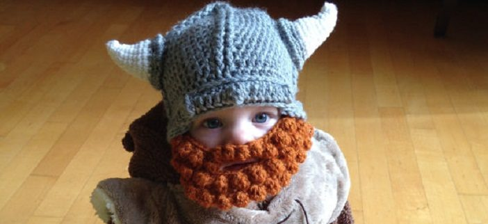 viking baby hat