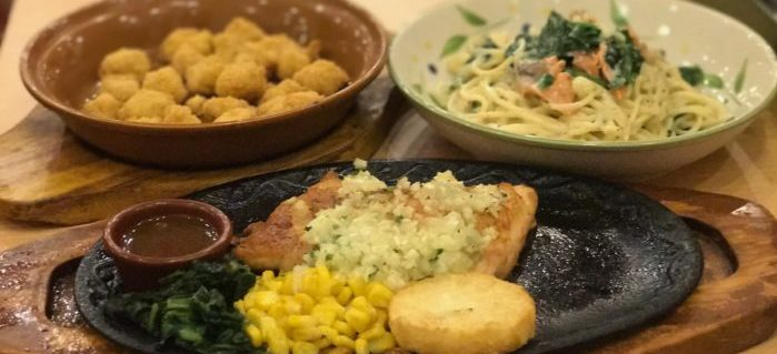 Saizeriya gourmet-like meals