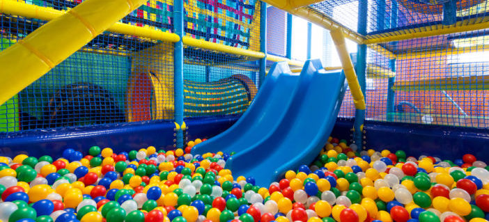 Ball pits and indoor play areas for kids might not be as for Cheap indoor play areas